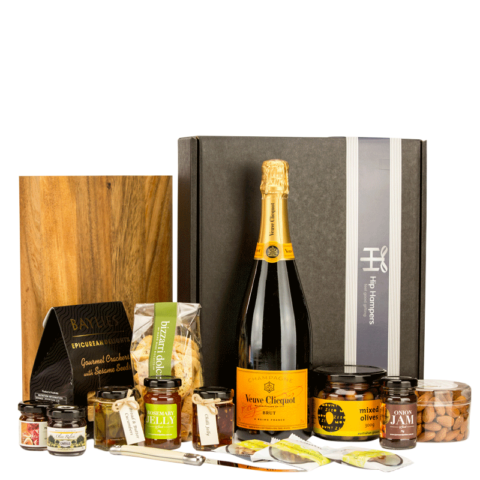 Veuve & Cheeseboard Hamper