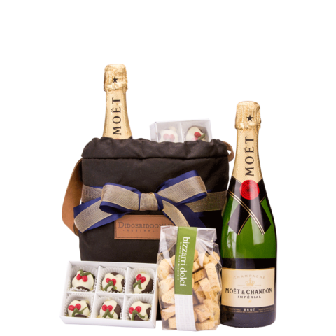 Chilled Moet Christmas Hamper